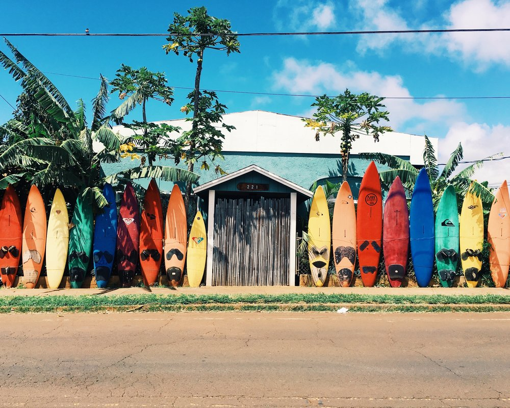 Surfboards for hawaii bid