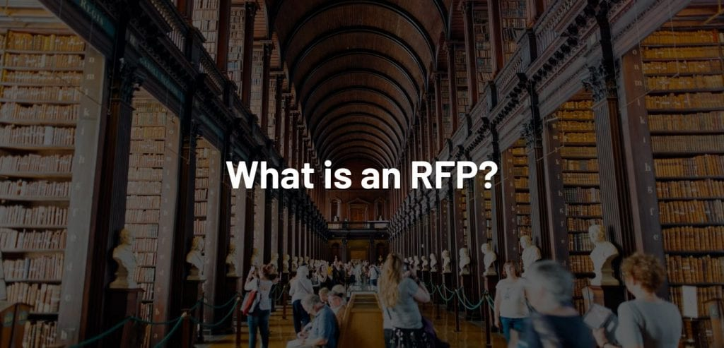 Consider This Your RFP Industry Glossary