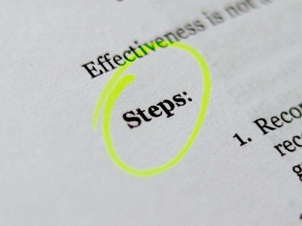 Document showing steps to an effective RFP Process.